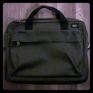 Jack Spade army green laptop bag